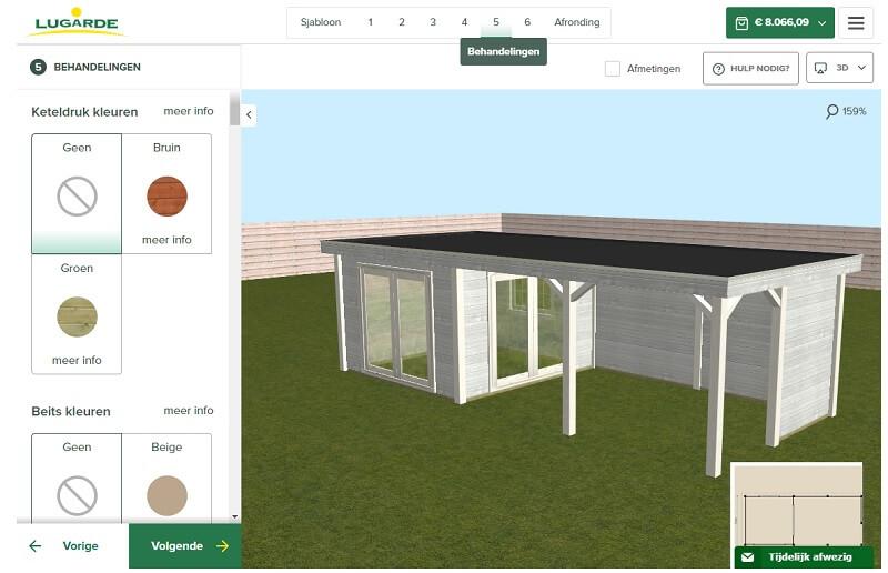 Ontwerp je tuinhuis, stap 5