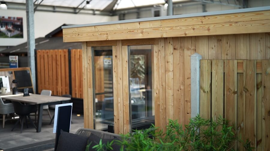Tuinhuis bouwen met panelen