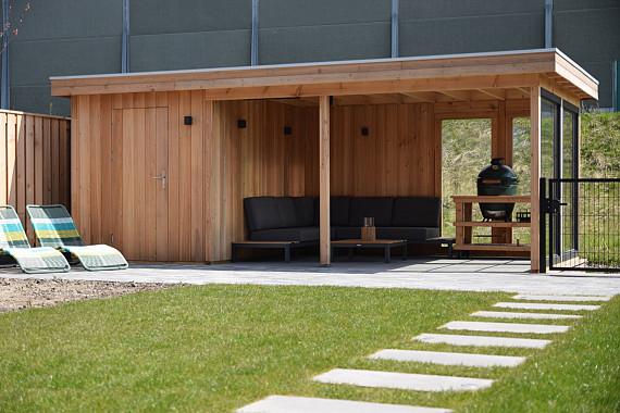 Deze veranda is klaar voor de zomer
